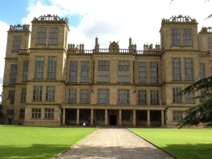 Hardwick New Hall. A gilded, or rather glazed, cage