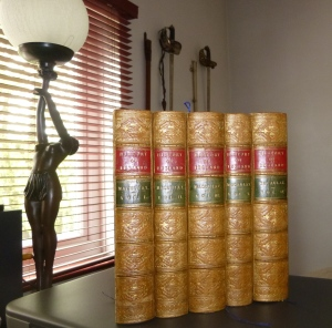 5 Volumes of Calf clad Whiggism